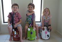 Flying with kids / Tips and advice for travelling long haul with kids.