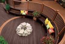 Beautiful Decks and Sun Porches / by LogFinish.com