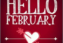 Hello February! =) / by Michelle