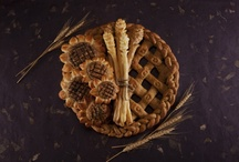 Bread and pie art / bread art, pie art