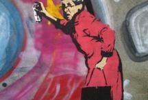 #Art ~ #Streetart / #Streetart ~ #Mauern ~ #Kunst ~ #Graffiti   ~ Amazing #Art ~ Amazing #Photos ~ Amazing ~ #Creations #Art ~ #Kunst ~ #Foto  www.astridbrouwer.de / by Astrid Brouwer