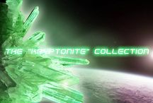 The Kryptonite collection / The Kryptonite collection by Pericles Kondylatos Kryptonite is a radioactive element from Superman's home planet of Krypton.