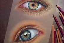 occhi pastel