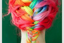 Awesome hair / by Morgan Potter
