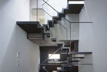 Upwards mobile / Stairs, their integration, and use of the stair space