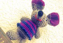 Peluches, bambolotti / Ganchillo, uncinetto, crochets