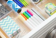 Organization / Tips and tricks to keep your self, and your desk more organized!