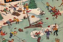 Skating -- Comics / by GCD Grand Comics Database