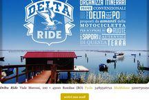 Delta Ride  / Delta Ride organizza itinerari non convenzionali nel Delta del Po per gli amanti della motocicletta! www.deltaride.it