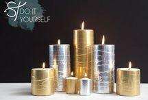 diy using candles
