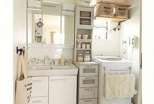 使いやすい洗面所