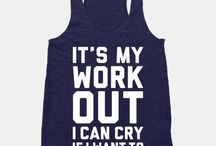 Must have workout clothes / by Ashley Denny