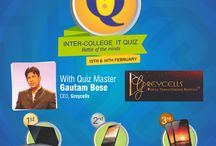 Quizmasters in Delhi, Mumbai, Bangalore and Kolkata / Quiz Events from across India