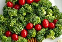Χριστουγεννιατικο δένδρο σαλάτα