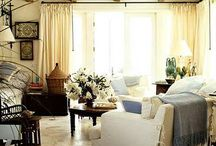 Indoor Living Space (non-beachy) / by Stacy