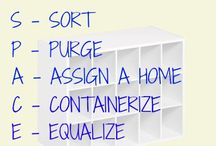 Organized Home / Organize your home with these organizing tips, organizing tricks and other home organization tidbits!