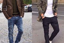 The Wow! Factor - Rugged-Masculine / Various outfits that fall under the Rugged-Masculine image archetype.