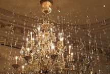Chandeliers.... / by Cathy Stevenson