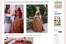 Historiske kostymer