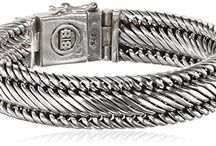 Silver Bracelets for Men / Mens Sterling Silver Jewelry for every occasion.