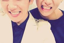 Kpop group bromances