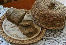 kenyér tartó