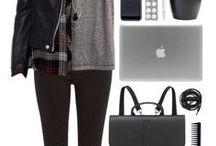 Stuff / Clothes. Quotes to clothing. Dream wardrobe = Black wardrobe.