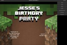Minecraft invitation maker