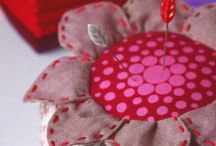 Pincushions and other needlework items