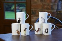 Cats and Dogs / This board contains images of our wonderful cats and dogs designs. Including Cats and Dogs Galore, Animal Fashion Dogs and Cats. - We hope you enjoy!