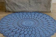 Crochet rugs / by Tara Pasholk