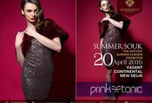 """Summer Souk 2016 / #SerendipityByKashish proudly presents """"Summer Souk 2016"""" - The Hottest Summer Fashion Exhibition of this season.  20th April 2016 