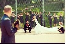 Softball wedding / Omg I love softball and weddings so why not mix them together