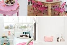 Interiors using Pink
