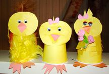 Hippy Hoppy Easter Crafts