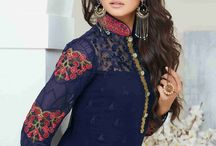 Nysa Lifestyle New Collection Vol.1 sold by Rehaantrendz.com / http://rehaantrendz.com/look-book/84-straight-suits-collection-vol-1-by-nysa-lifestyle.html