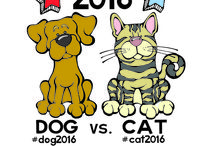 """2016 """"Pet""""sidential Election / The 2016 """"Pet""""sidential Election is underway. The top two candidates are Dog and Cat. Who are you going to vote for? We will have continuing coverage of the campaign."""
