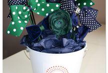 bouquets con moños
