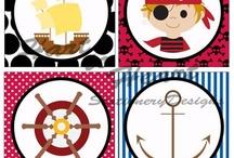 Piratas. Actividades y Manualidades / Pirates Activities & Crafs / Ideas creativas sobre piratas para actividades, fiestas y manualidades.