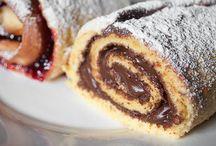 Enrollado de Nutella  / Pastel