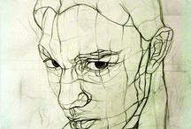 portrait tegning