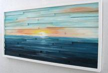 Art de mur abstrait