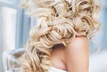 Frisuren make up und Nägel für die Hochzeit