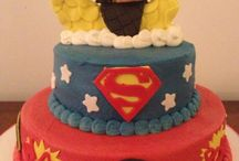 Baby shower party Batman