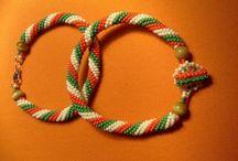 bead crochet / #handmade# , #ajándékötlet#