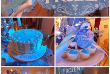 Frozen Birthday Party Ideas / Fantastic Disney Frozen birthday party ideas, including Frozen birthday cakes, cupcakes, Frozen themed treats, Frozen free printables, decorations, party favors, and party activities.