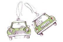 """Collezione """"Macchine"""" - """"Cars"""" collection / Mini, 500"""