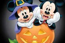 Halloween- Mickey és Minnie