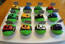 Cars cupcakes