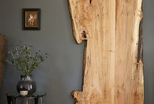 Rustic wooden doors